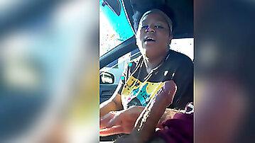 Chubby Young Car rendezvous guzzles 2 jizz shots on hidden camera