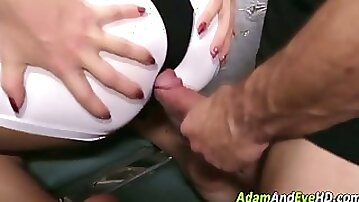 Clothed asian deepthroats