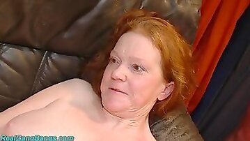 Ugly chubby MILFs first rough fist fuck orgy